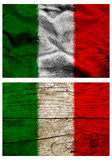 Italian flags Royalty Free Stock Photography