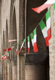 Italian flags Royalty Free Stock Photos