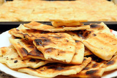 Italian flat bread Stock Images
