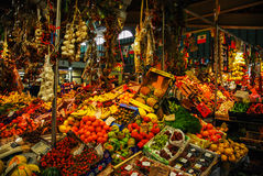Italian flavour. Florence market, Tuscany, Italy 2015 Stock Images