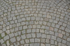 Italian flooring. Italian street flooring istanbul sirkeci Royalty Free Stock Photo