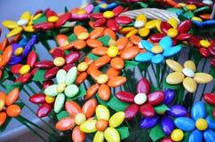 Italian flower shop in Venice Stock Photo