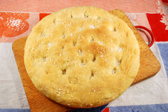 Italian Focaccia 002 Royalty Free Stock Photo