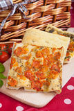 Italian focaccia bread Royalty Free Stock Image
