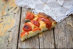 Italian focaccia bread Stock Photo