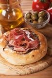 Italian focaccia bread Royalty Free Stock Photography