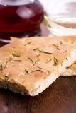 Italian focaccia bread Royalty Free Stock Photography