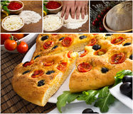 Italian focaccia images Royalty Free Stock Photo