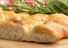 Italian focaccia with rosemary Stock Images