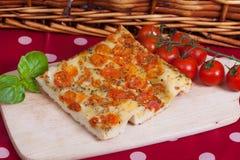 Italian focaccia snack Stock Photo