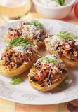 Italian foccacia bread Royalty Free Stock Photo