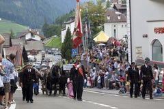 Italian folk fest Stock Image