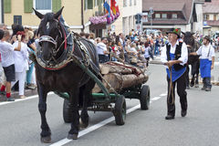 Italian folk fest Stock Photography