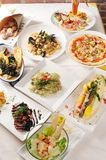 Italian food. On the table Royalty Free Stock Images