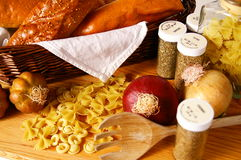 Italian food Royalty Free Stock Photography