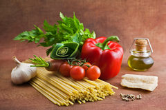 Italian food. Ingredients for cooking Stock Photography