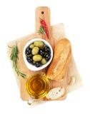 Italian food appetizer Stock Photos