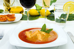 Italian food cuisine Stock Photo