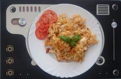 Italian food. Czech cousine Stock Photography