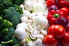 Italian Food Flag Stock Images