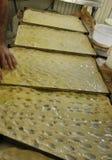 Italian food, genuine genoese cake Stock Images