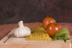 Italian food ingredients stock images