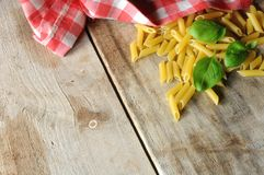 Italian food ingredients italian restaurant background Royalty Free Stock Images