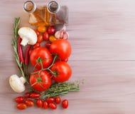 Italian food ingredients. royalty free stock image