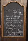 Italian Food Menu Royalty Free Stock Images