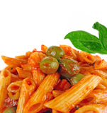 Italian food pasta Royalty Free Stock Images