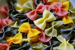 Italian food: pasta Royalty Free Stock Image