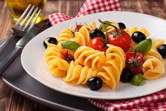 Italian food. Pasta. Stock Image