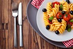 Italian food. Pasta Royalty Free Stock Photos