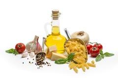 Italian food and pasta ingredients Stock Photo