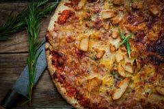 Italian food pizza Royalty Free Stock Photos