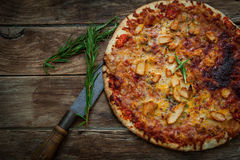 Italian food pizza Royalty Free Stock Images