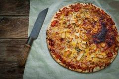 Italian food pizza Stock Image