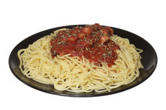 Italian food: Spaghetti Royalty Free Stock Image