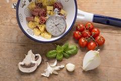 Italian food still life Stock Photo