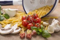 Italian food still life Royalty Free Stock Photo