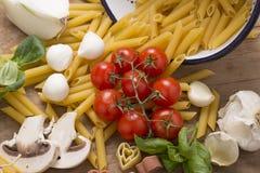 Italian food still life Stock Image