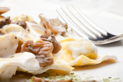 Italian food:tortellini Royalty Free Stock Photos