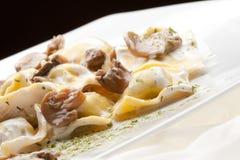 Italian food:tortellini Stock Photos
