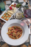 Italian foods Stock Image