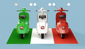 Italian formation Royalty Free Stock Image