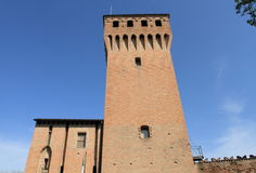 Italian fortress in Formigine Stock Photo