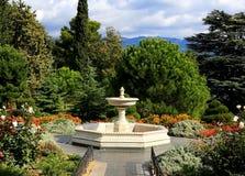 Italian fountain Stock Photography