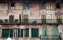 Italian Fresco wall Stock Photography