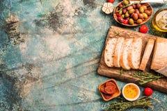 Italian fresh ciabatta bread Royalty Free Stock Photo