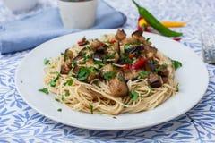Italian fresh pasta Royalty Free Stock Photos